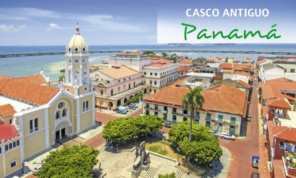Casco antiguo o casco viejo Panamá