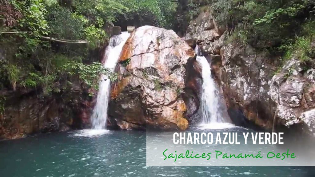 Charco azul y Charco verde en Sajalices, Panamá Oeste
